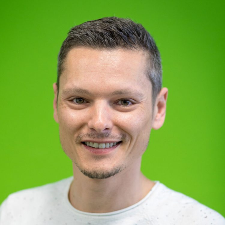 Hannes Kosz, Mitarbeiter des Vereins WIR aus Hall in Tirol