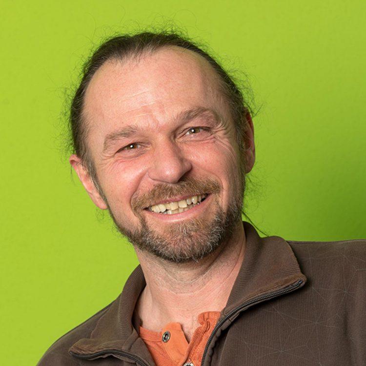 Martin Wechselberger, Mitarbeiter beim Verein WIR aus Hall