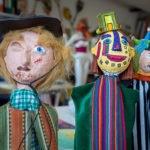 Handgefertigte Puppen aus den Werstätten von WIR