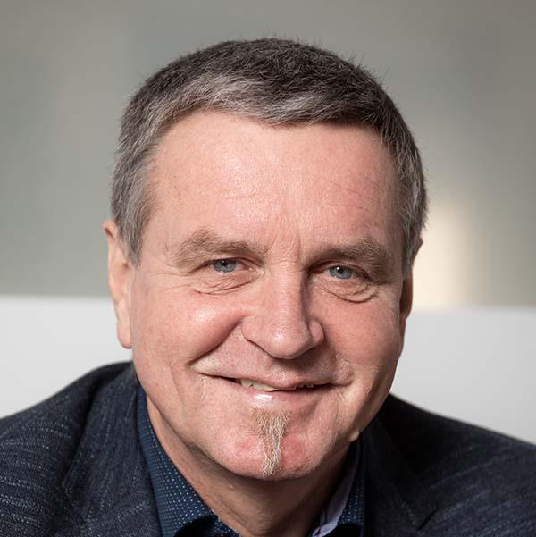 Der Chef von WIR Gerhard Eckstein