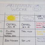 Gemeinsamer Aktivitätenplan im Haus Wiesing