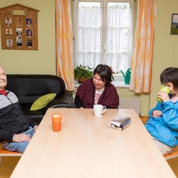 Betreutes Wohnen für Behinderte in Geselligkeit