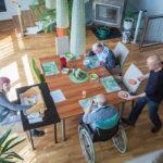 Gemeinsames Mittagessen im Haus Wiesing - Betreutes Wohnen in Wiesing Tirol