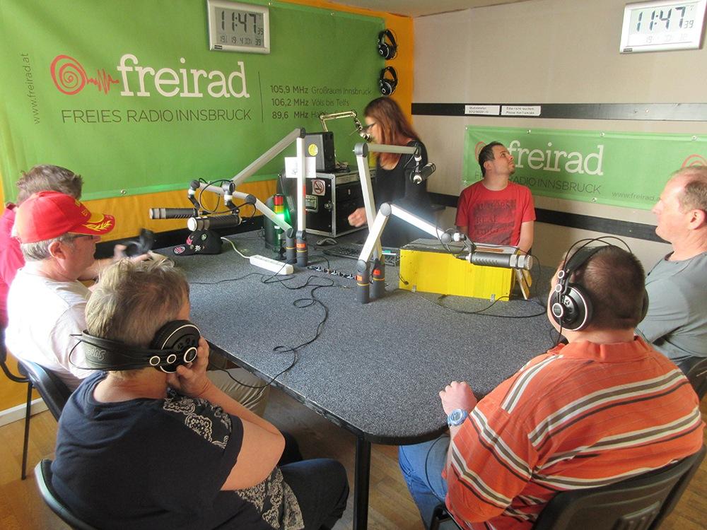 Freies Radio Innsbruck WIR Sozial-Inklusive Dienstleistungen Tirol